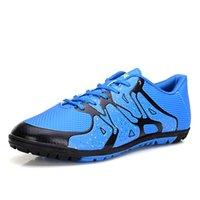 Wholesale Mens indoor Soccer Shoes Sport Boys street training Football Shoes Sneakers botas de futbol Futsal boots