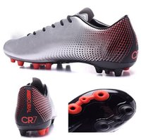 box and - 2016 new men Mercurial Superfly CR7 Quinhentos Gold Soccer shoes Athletic Outdoor Football shoes Discount Cheap Soccer Cleats Running boots