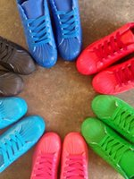 Wholesale Men and women superstar Pharrell Williams Supercolor Couples sneaker shoe