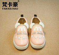 in style shoes - Children s shoes autumn new han edition girls cartoon cute mickey leather shoes single shoes style shoes in the five star rivets