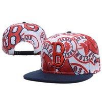 Wholesale Boston Red Sox Snapback Baseball Caps Snapback Hats Men and Women Snap Backs All Teams Caps Hip Hop Caps High Quality Hats Hot Sale Cap