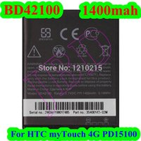 Wholesale New BD42100 Battery For HTC myTouch G PD15100 Battery AKKU Bateria Battery High Quality Battery