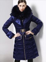 batik fabric designs - ROYALCAT brand Miss Gao Duan long section of thick down jacket women Slim was thin fashion luxury Nagymaros collar tide Custom color fabric