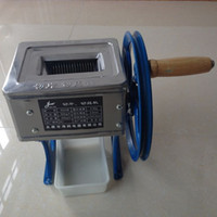 Wholesale New Small hand cranked meat grinder slicer Cutter