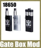 mech mod Porte Box double Mod Hell ajustement Thread 2 RDA atomiseurs Yep Hells Gate Mod Double coffre 18650 batteries mods mods vs roi mod 26650 TZ238