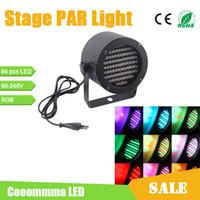 Wholesale 86 LEDs PAR Stage Light Channel DMX512 Control W AC110 V Spotlight For Disco Pub Club Concert Wedding Party