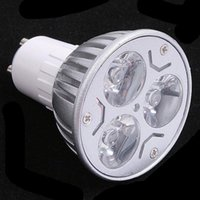 Wholesale LED Bulbs Promotion Retail High Power CREE W x1W GU10 MR16 E27 LED Light Lamp Spotlight LED Bulb