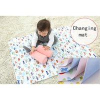 Wholesale Cotton Bamboo fiber Diaper Pad Waterproof Double sided use Baby Infant Bedding Changing Mat New