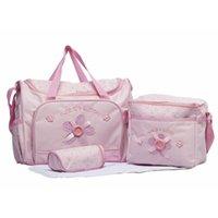 Wholesale hot sale new nappy mummy bag print maternity handbag diaper bags baby tote