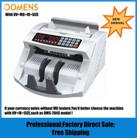 Wholesale New Banknote Multi Currency Bill Money Counter DMS T UV MG IR SIZE Cash Counting Machine