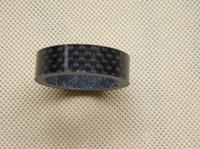 Wholesale carbon bikar spacer ring black glass matte K carbon washer mm bike parts