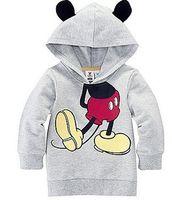 baby clothes sweatshirt - Girls boys Minnie Mickey Mouse Sweatshirts D Hoodies Sweatshirt Sportswear Costume Long Sleeve clothes baby Children Clothing