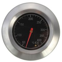 Wholesale NEW High Quality Barbecue BBQ Smoker Grill Stainless Steel Thermometer Temperature Gauge