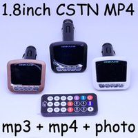 Wholesale New CSTN Car MP3 MP4 quot Player FM Transmitter SD MMC USB VZ803