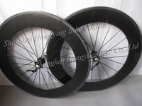 Wholesale China best carbon clincher wheels with basalt braking surface mm deep C