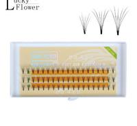 Wholesale New Soft Eyelash Extension Deluxe Lashes D mm lashes growth Flase long eyelashes VOLUME Eyelashes Fans