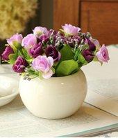 Wholesale 2016 ceramic flower pot indoor bonsai ceramic pots