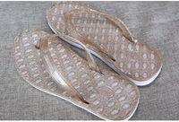 Wholesale Womens Platform Sandals Summer Shoes Woman Beach Flat Wedge Patch Flip Flops Lady Slippers