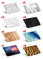 Wholesale Cartoon Design Laptop Hard Cases Marble Style for Apple Macbook Air Pro Retina inch Protector Macbook Case Front Cover