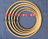 embroidery hoops - chinese style variety of models bamboo hoop for home decoration embroidery tools cross stitch tools