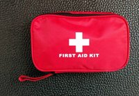 Wholesale 36pcs pack Safe Bag Emergency First Aid Kit Medical Outdoor Camping Survival Kits Professional Medical Urgent Package FAK New01