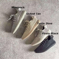 Wholesale High Quality Mens Y Running Shoes Oxford tan Black Kanye Sports Sneakers Outdoor Shoes With Box