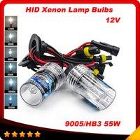 achat en gros de hb4 caché kit phare-55w AUTO KIT ampoules HID XENON H1 H3 H4 H7 H11 H8 H9 HB3 HB4 9005 6000k 9006 Xenon voiture lampes Phares antibrouillard