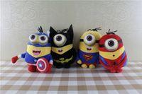 Wholesale 30pcs set The Avengers plush toys cm Marvel s Stuffed Toys Minions Plush toys Kids Gift The Avengers Dolls Gift