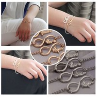 faith bracelet - Infinity Blessing Wish Bracelet For Women Lucky Bracelet Letters Dream Hope Faith Love Bracelet Bangle Gold Silver Bijouterie J0085