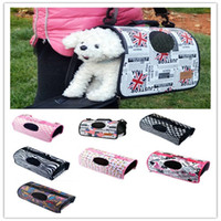 Wholesale Breathable solid cat dog carries totos net cloth PE Board folding convenient pet god tote bags new colors small size new BB013
