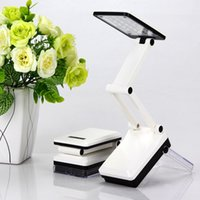 Wholesale 2015 High Quality Mini Adjustable Folding Table Lamp LED Desk Lamp Chargeable Eye protected Studying Lamp
