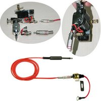 Wholesale 2pcs Tattoo Machine Line Silica Gel Line Combined Hook Line Tattoo Equipment To Power