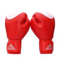 PU Luta MMA Kick Boxing Gloves práticas de formação Muay Thai Sanda Punching Bag Boxeo