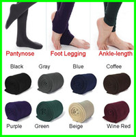 Cheap 2015 Newest Fleece-Lined Leggings Warm Winter Faux Velvet Legging Knitted Thick Slim Leggings Super Elastic pantyhose 3 style 5pcs L514