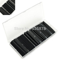Wholesale Dual Wall Black Glue Lined Heat Shrink Tubing Sleeving Size Kit mm