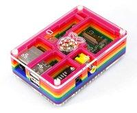 Wholesale New Raspberry Pi Sliced Case Enclosure Acrylic Computer Box