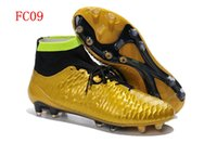 Cheap 2015 Superfly IV 4 FG Soccer Shoes Magista Obra FG Football Boots Men High Ankle Soccer Cleats CR7 original brand top quality size:eur39-46