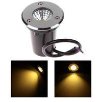 Wholesale 3W AC DC V COB Buried Lamp LED Underground Lamp LED Inground Light IP67