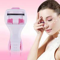 mini eyelash curlers - Mini Manual Eyelash Curler False Clip Applicator Makeup Cosmetic Tool Hot Selling