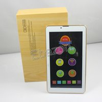 7 pulgadas 3G llamada de teléfono Android 4.2 Tablet PC 1GB de RAM 8GB GPS Bluetooth 1024 * 600 HD Pantalla Dual Sim phablet Dual Core MTK6572 de doble cámara
