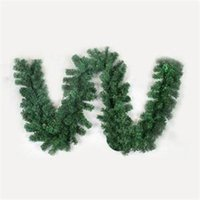 garland christmas - 2014 New TS Practical Luxury M X CM Thick Mantel Fireplace Christmas Garland Pine Tree Indoor Christmas Decoration ST