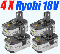 Wholesale 4 Pieces x mAh RYOBI V Lithium Battery ONE Ryobi Lithium Battery Volt order lt no track