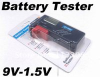 Wholesale Digital Battery Tester Checker For V V And AA AAA Cell Tester Battery By FedEx