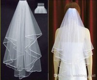 beautiful inexpensive wedding dresses - Most Romantic Beautiful LAYERS White Bridal Veil Inexpensive Vintage Simple Wedding Veil New Bridal Accessory for Wedding Dress