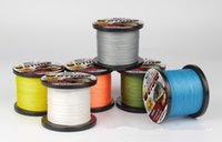 fishing braid - Braided Line Color Solid colored Makes Strong Horse Meters PE Line Sea Pole Sea Fishing Line Fishing Gear PE Material Fishing Line