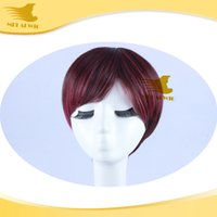 Cheap Short color mix Cosplay Wig Best Hair Party Wig