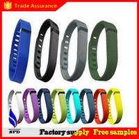 Wholesale New Replacement band bluetooth bracelet rubber Band WITH Clasps for Fitbit Flex