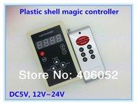 Gros-5V 12V 2801 2811 6803 1803 1903 1812 1809 Contrôleur LED RGB magique Digital Dream couleur RF Télécommande Pour LED Light Strip