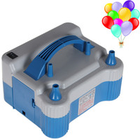 Wholesale ABS Electric W Household Balloon Inflator Electric Balloon Pump with Two Nozzles for Birthday Wedding