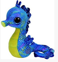 beanie boos horse - TY Beanie boos new plush toys TY big eyes cm bright blue see horse classic gift for christmas